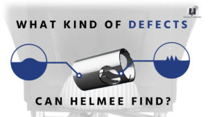 What kind of defects can Helmee find