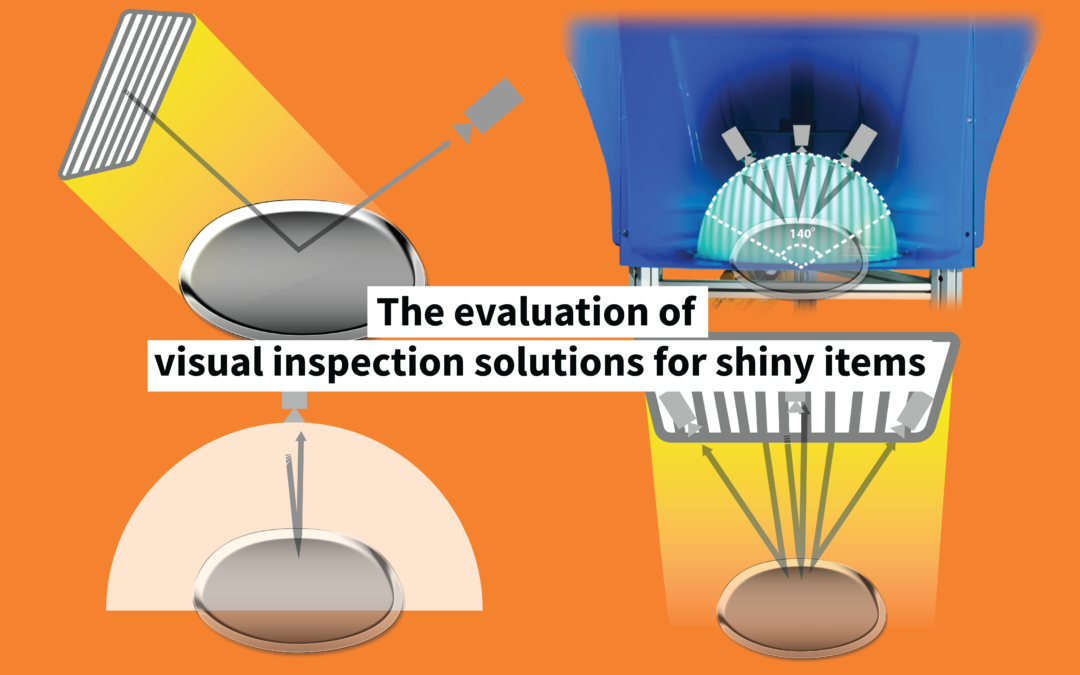 The evaluation of visual inspection solutions for shiny items