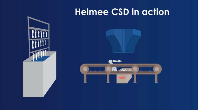 Helmee CSD in action